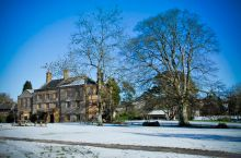 Hooke Court in the winter snow